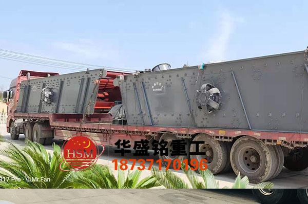 两台2YK2875振dong筛再次发往陕西神木