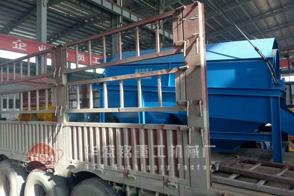 1200滚筒筛shuang台发货,新疆乌鲁木齐马总注意查收